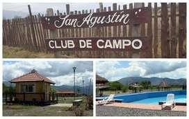 Vendo Hermoso Terreno Club de Campo San Agustin