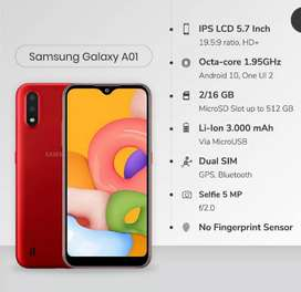 Samsung Galaxy A01 16 Gb 2 de RAM ROJO/NEGRO/AZUL SELLADOS