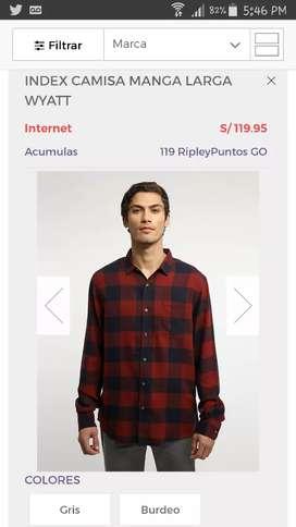Camisas Marca Index