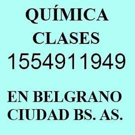 Química Clases de Apoyo en Belgrano CBC Universitario UBA XXI