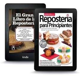 Reposteria Para Profesionales y Principiantes Coleccion Kit 50 Libros