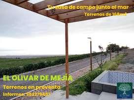 EL OLIVAR DE MEJÍA - TERRENOS PARA CASAS DE CAMPO JUNTO AL MAR