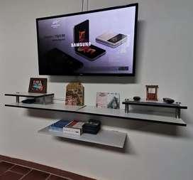 Soportes para tv y repisas en madera cotiza por whatsapp sin ningún compromiso