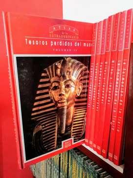 Lote X 70 Libros Atlas Extra. Origenes