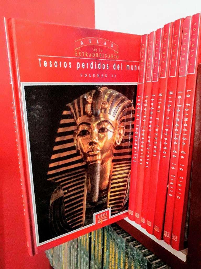 Lote X 70 Libros Atlas Extra. Origenes 0