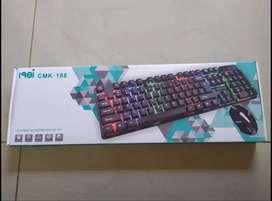 Combo Teclado y Mouse Ger Led Cmk-188