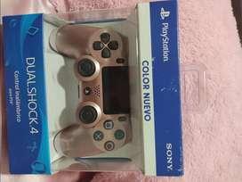 Control PS4 dual shock rosado