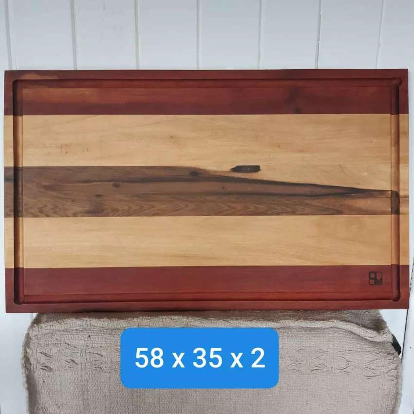 Tabla madera para cocina- sin uso 0