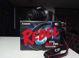 Canon  T6i Rebel