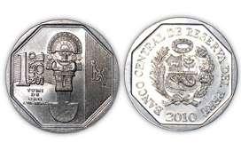 Monedas de la coneccion riqueza y orgullo del Peru (todas las monedas)