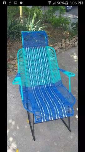Venta de sillas tejidas