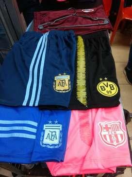Short de Futbol con bolsillos