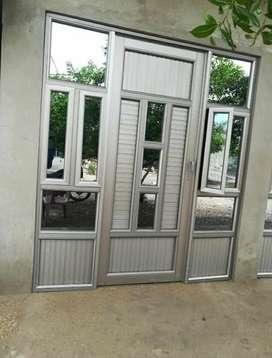 Se fabrican todo tipo de muebles en aluminio y pvc