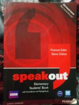 Speakout Elementary Students' Book con DVD libro en ingles