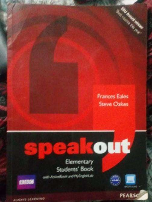 Speakout Elementary Students' Book con DVD libro en ingles 0