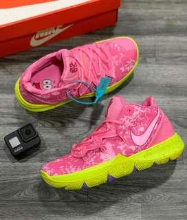 Botas Nike Kirye 5 Bob Esponja Patricio Rosa Envio Gratis