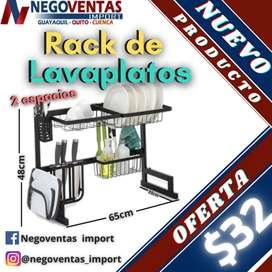 RACK DE LAVAPLATOS