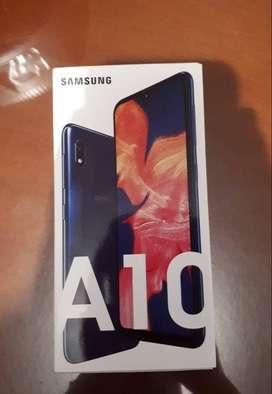 Vendo celular Galaxy A10 Nuevo en caja.