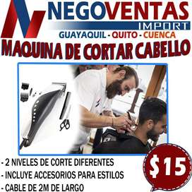 MAQUINA DE CORTAR CABELLO EN DESCUENTO EXCLUSIVO DE NEGOVENTAS