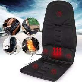 Asiento masajeador + calefactor para auto y casa