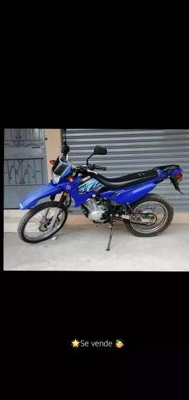 Venta de Moto Yamaha Color Azul