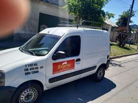 Vendo kangoo diesel 1,9 modelo 2007, tomo permuta por furgon tipo trafic