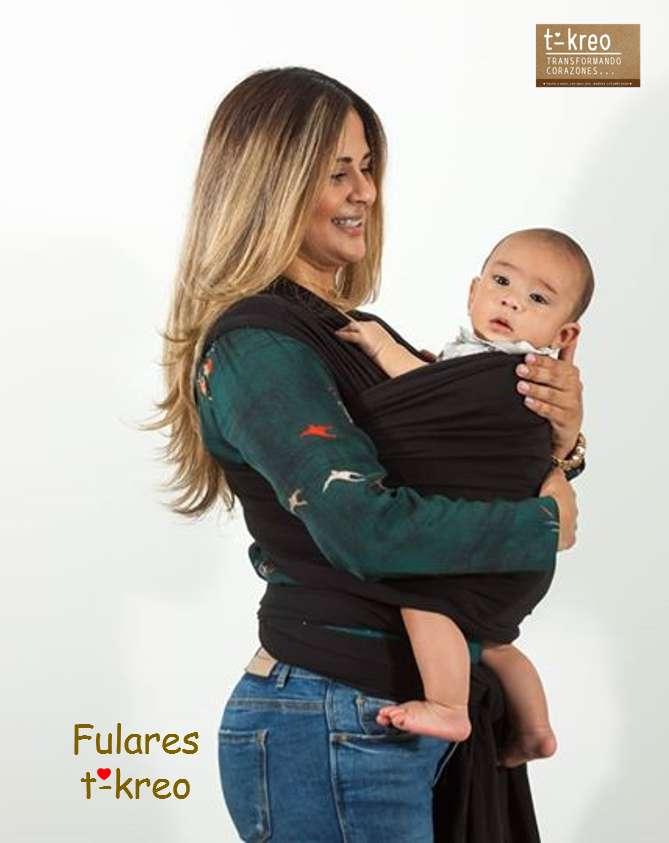 Fular Elástico Cargador Porta-bebés Ergonómico 0