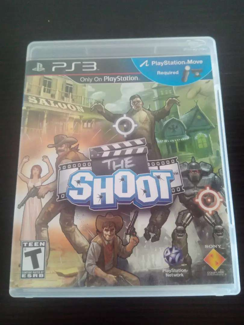Play station 3 juego SHOOT 0
