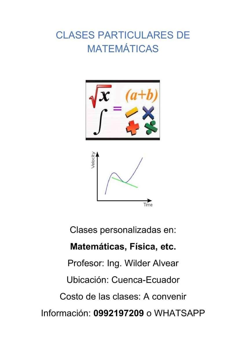 Clases particulares de matemáticas 0
