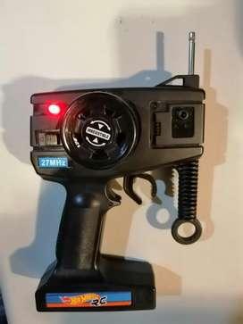 Control remoto HotWheels 27MHz. Nuevo y original