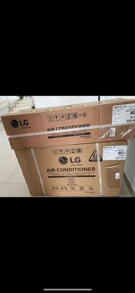 Vendo aire nuevo de 12.000 btu marca lg (inverter) garantia un año