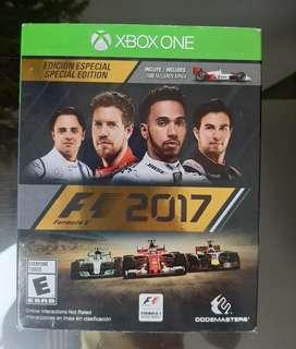 Fórmula 1 2017 Xbox one