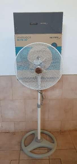 Vendo ventiladores Netmak, 20 pulgadas, nuevos