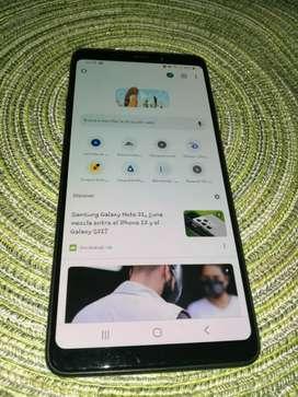 VENDO celular Samsung A9 2018 Excelente estado