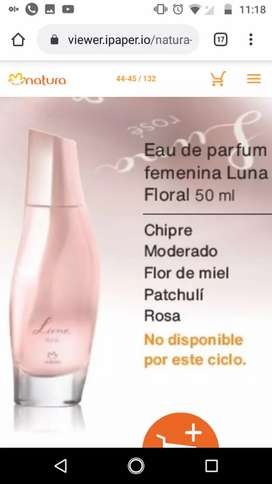 perfume luna 50 ml de mujer