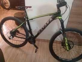Bicicleta de montaña de 10 velocidades