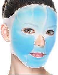 Mascarilla Facial Gel Terapia De Frío Y Calor Rostro Arrugas