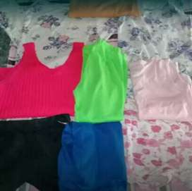 SHORTS, MUSCULOSAS, REMERAS!!!