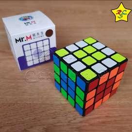 Mr M Cubo Rubik 4x4 Magnético Shengshou Speedcube Negro