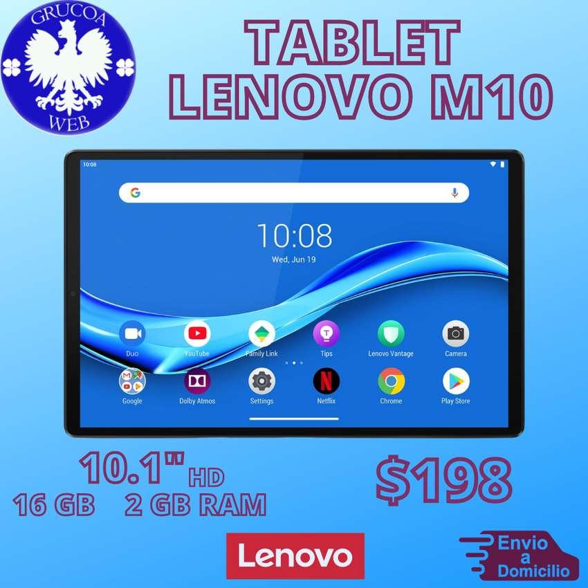 "TABLET LENOVO M10 -10.1"" (HD) - 2 GB RAM / 16GB."