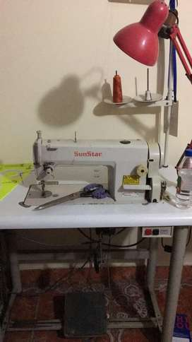 Vendo Maquina de coser recta mecanica