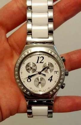 Reloj Swatch Dama Dreamwhite Uso Normal