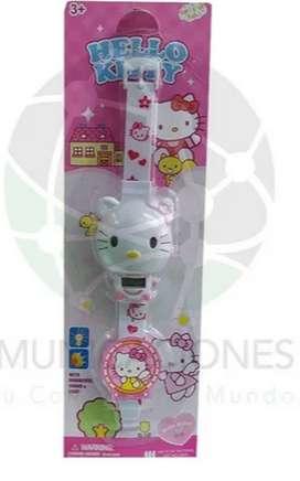 Reloj Para Niñas - Hello Kitty + Obsequio