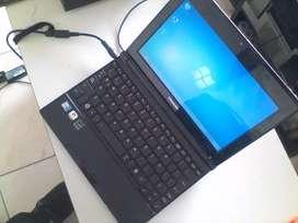 Portátil Toshiba NB505 disco duro 250gb 2gb ram win 7 Office gratis mouse