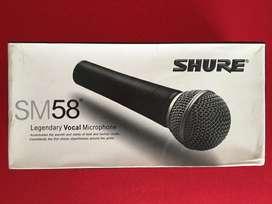 Micrófono Profesional Shure Sm58 Alambrico SIN USAR