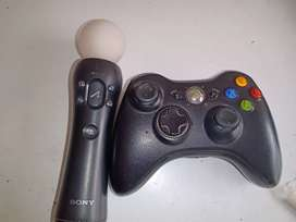 Joystick xbox 360 y control move ps4