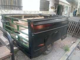 Taarailer caja grande con 2 puertas traseras
