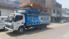 Transporte de mudanzas y taxi carga en general. Eliminación de desmonte