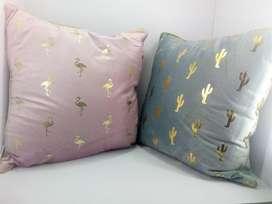 Cojines Cojín Decorativos Incluye el Relleno en Algodon Siliconado