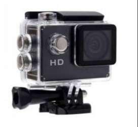 Cámara Video Sports 1080P FULL HD A Prueba De Agua + Accesorios